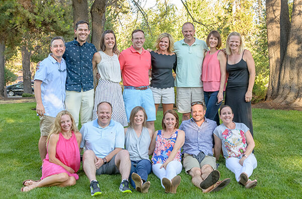 Third Papé generation: Shirley's 14 grandchildren