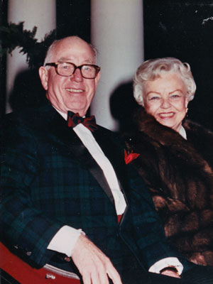 Shirley and H. Dean Papé, Founder of Pape Family Foundation